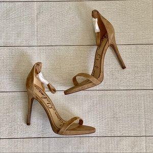 New Sam Edelman Ariella Single Sole heels taupe